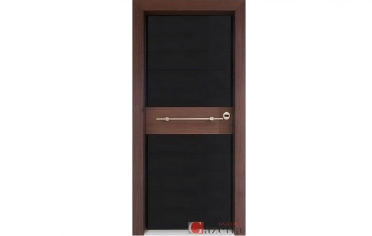 Πόρτα Θωρακισμένη Γυαλί – Ξύλο