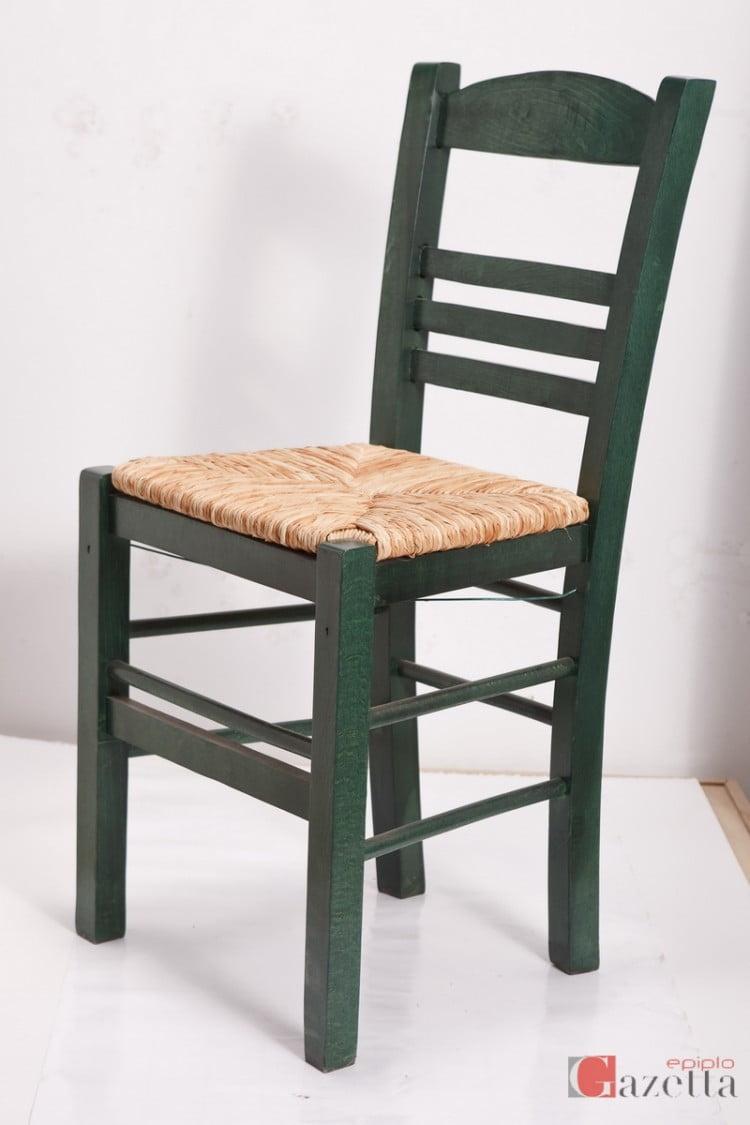 Καρέκλα επιλοχία ανελίνη πράσινη