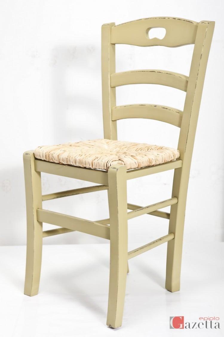 Καρέκλα Κ40 λάκα πατίνα