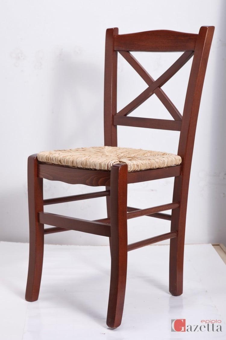 Καρέκλα Κ43 καρυδιά